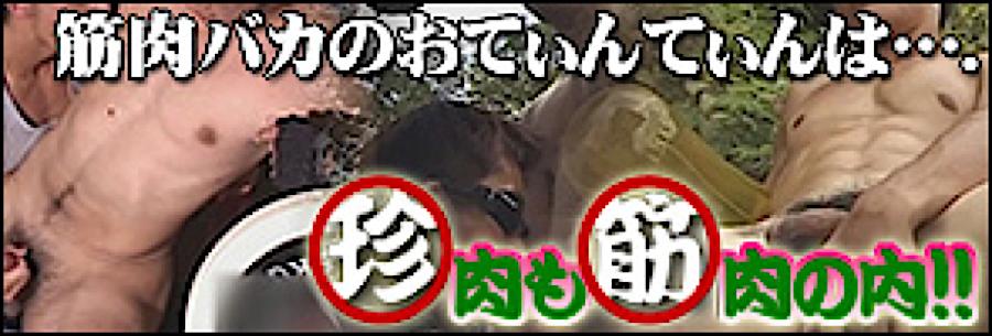 ゲイセックス:珍肉も筋肉の内!!:パイパンペニス