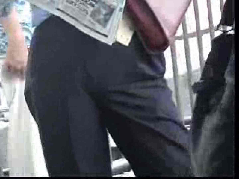 電車内でリーマンの股間撮影 スーツ | 車内  12枚 11