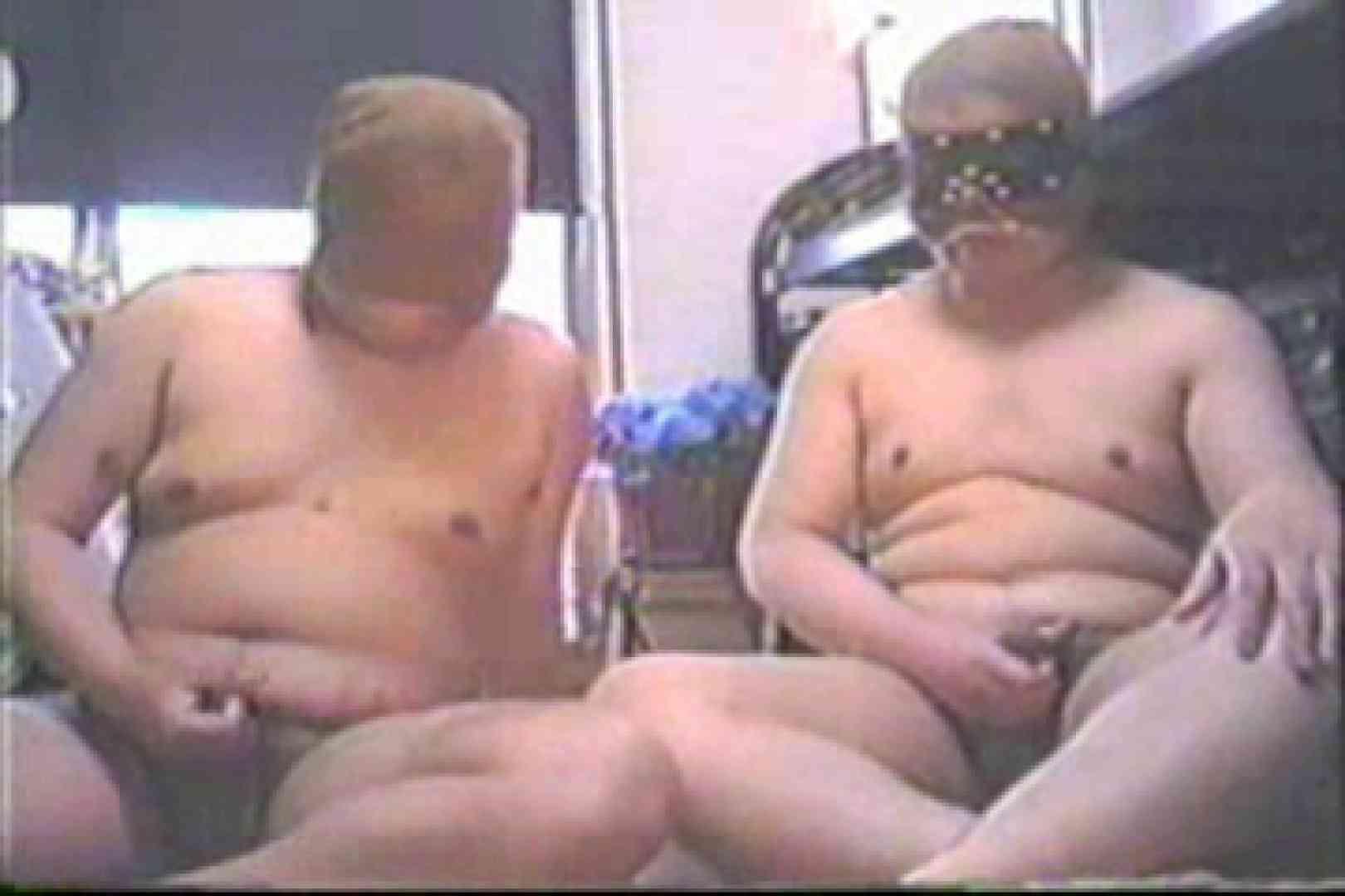 【実録】パンスト仮面は真性包茎!!Hなぽっちゃりカップル ゲイカップル   男のデブ  12枚 8